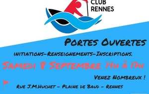 Initiations - Renseignements - Inscriptions
